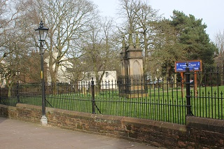 Penrith Partnership improves lighting at St Andrew's Churchyard